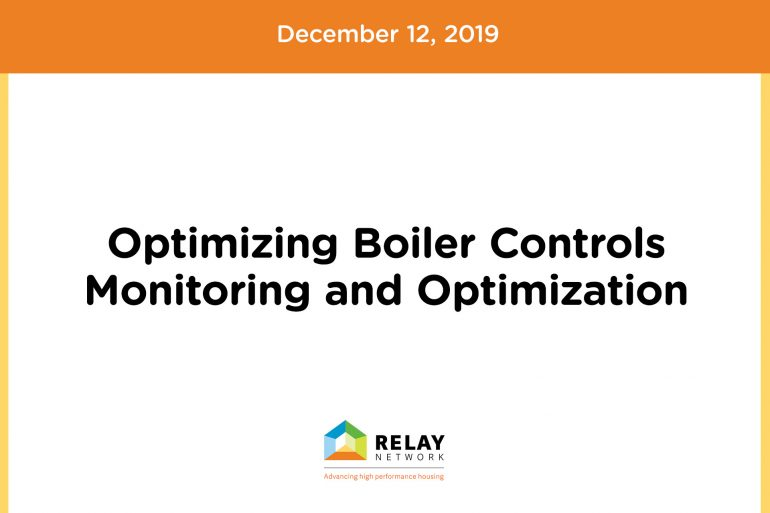 Optimizing Boiler Controls – Monitoring and Optimization