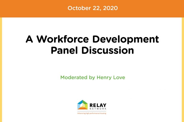 A Workforce Development Panel Discussion